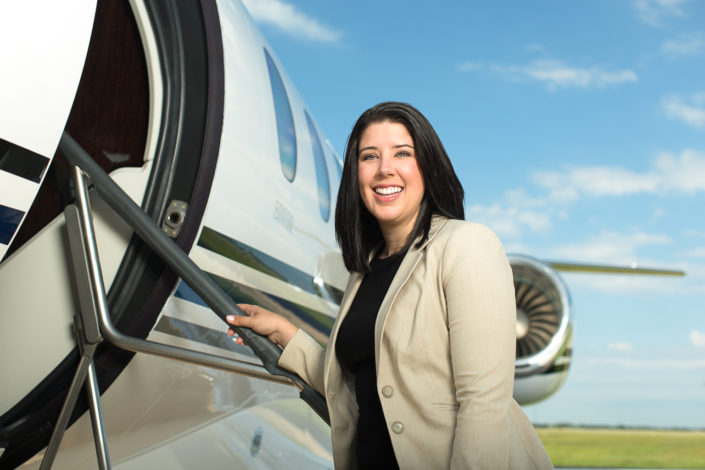location photography, portrait photography, environmental portrait, recruitment photography, commercial photography, industrial photography, professional portrait, professional woman, female professional, young professional, aviation, aviation industry, manufacturer, engineer